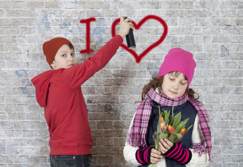 Отношения в школе любовь